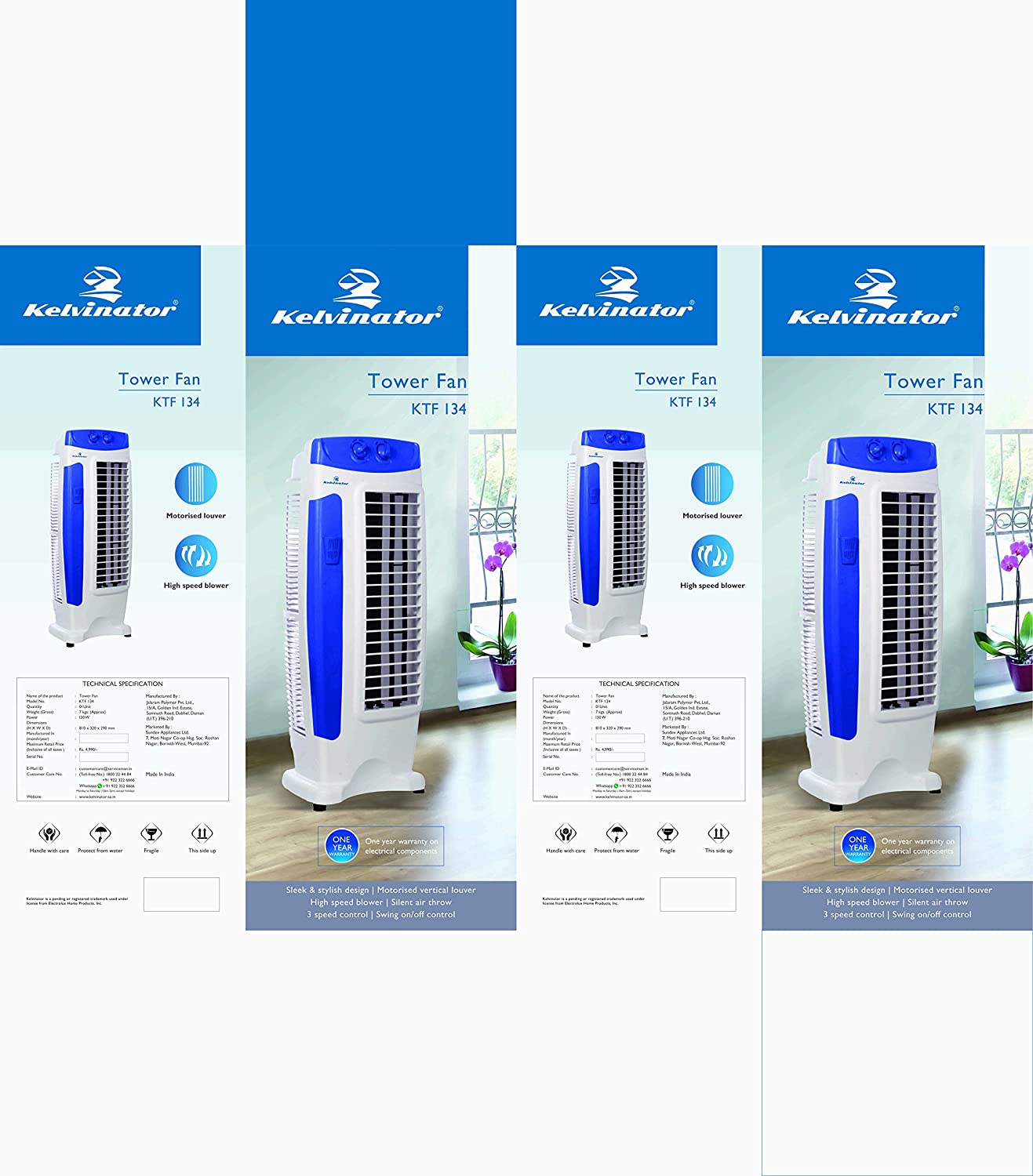 Buy Kelvinator Bms Ktf Cool Breeze Tower Fan White Online At Low Range Wiring Diagram Prices In India