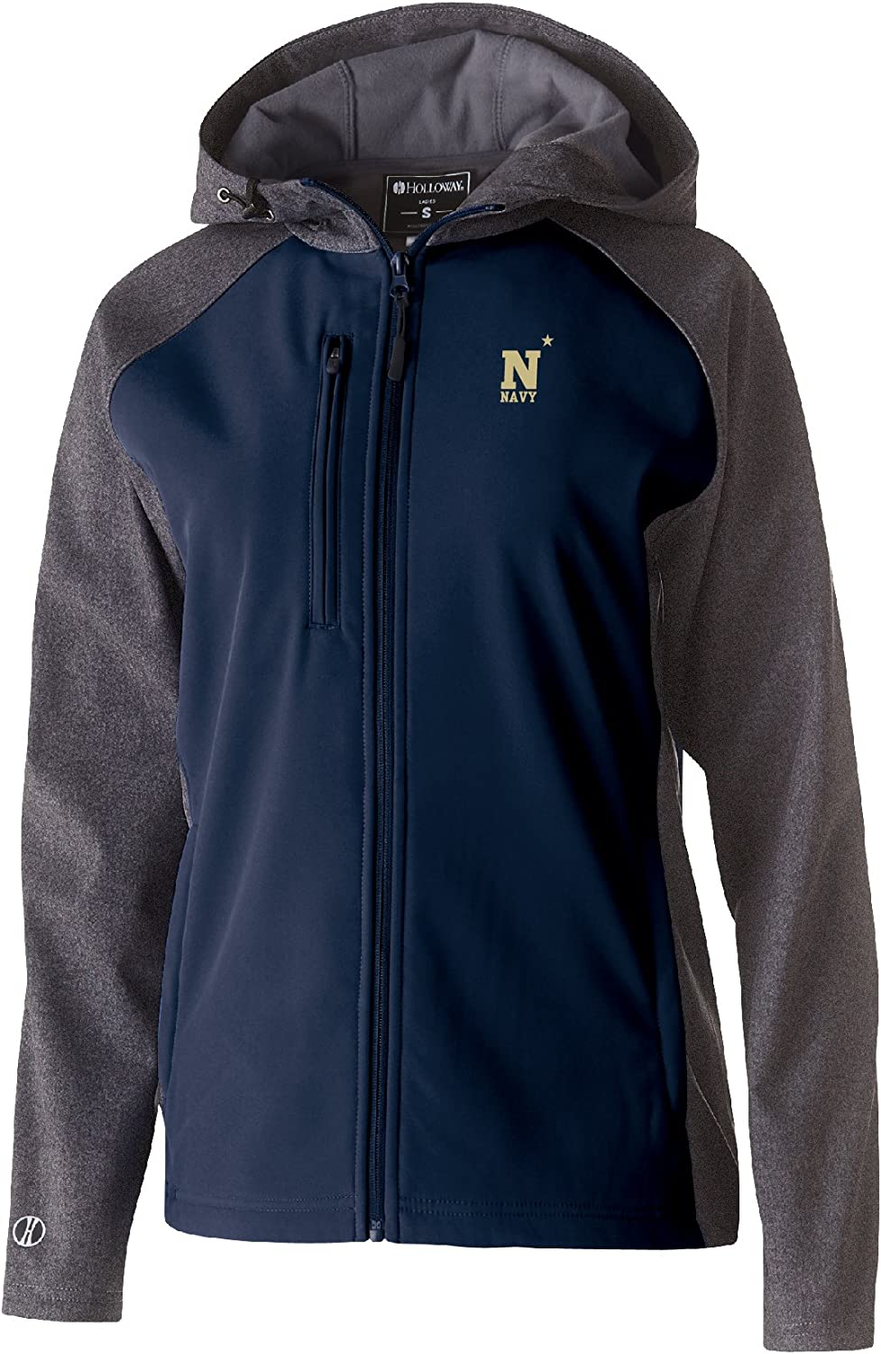 NCAA Navy Womens Raider Soft Shell Jacket