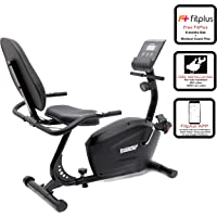 Fitkit FK900 Magnetic Recumbent Bike with Back Rest (8 lbs) & Free Installation