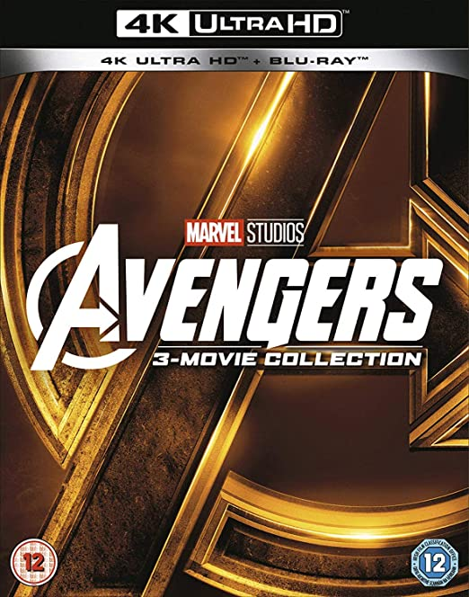 Avengers UHD Triple pack [Italia] [Blu-ray]: Amazon.es: Cine y ...