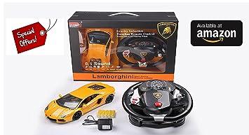 Buy Scale 18 Cm Small Fastest Lamborghini Real F1 Steering Control