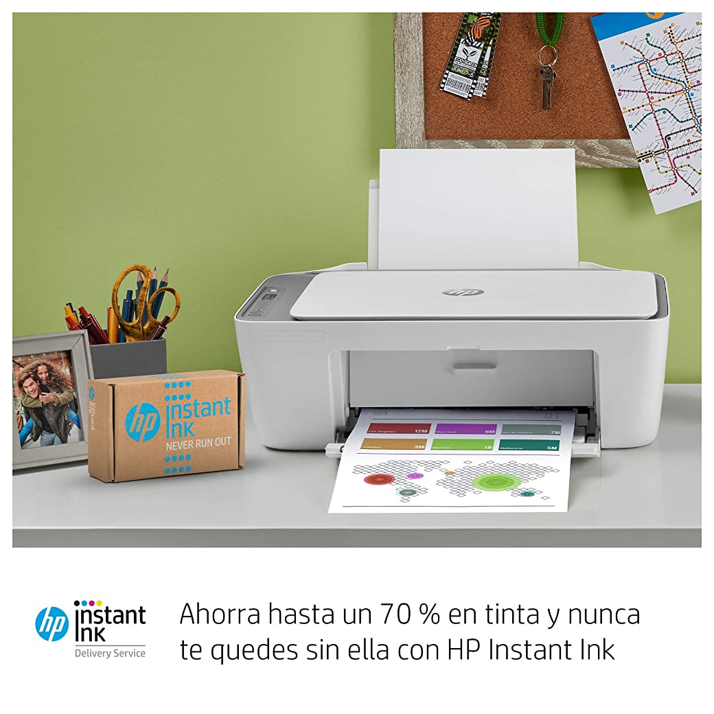 HP DeskJet 2720 - Impresora Multifunción