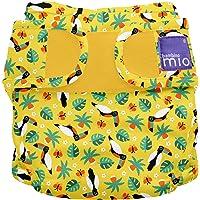 Bambino Mio Miosoft Cloth Diaper Cover, Tropical Toucan, Size 2
