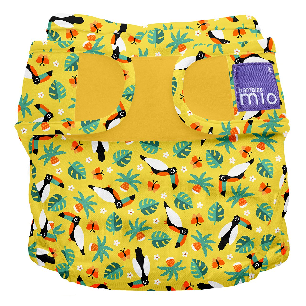 Bambino Mio Miosoft Nappy Cover, Size 1, Less Than 9 kg, Spider Monkey Bambino Mio UK MS1 MON