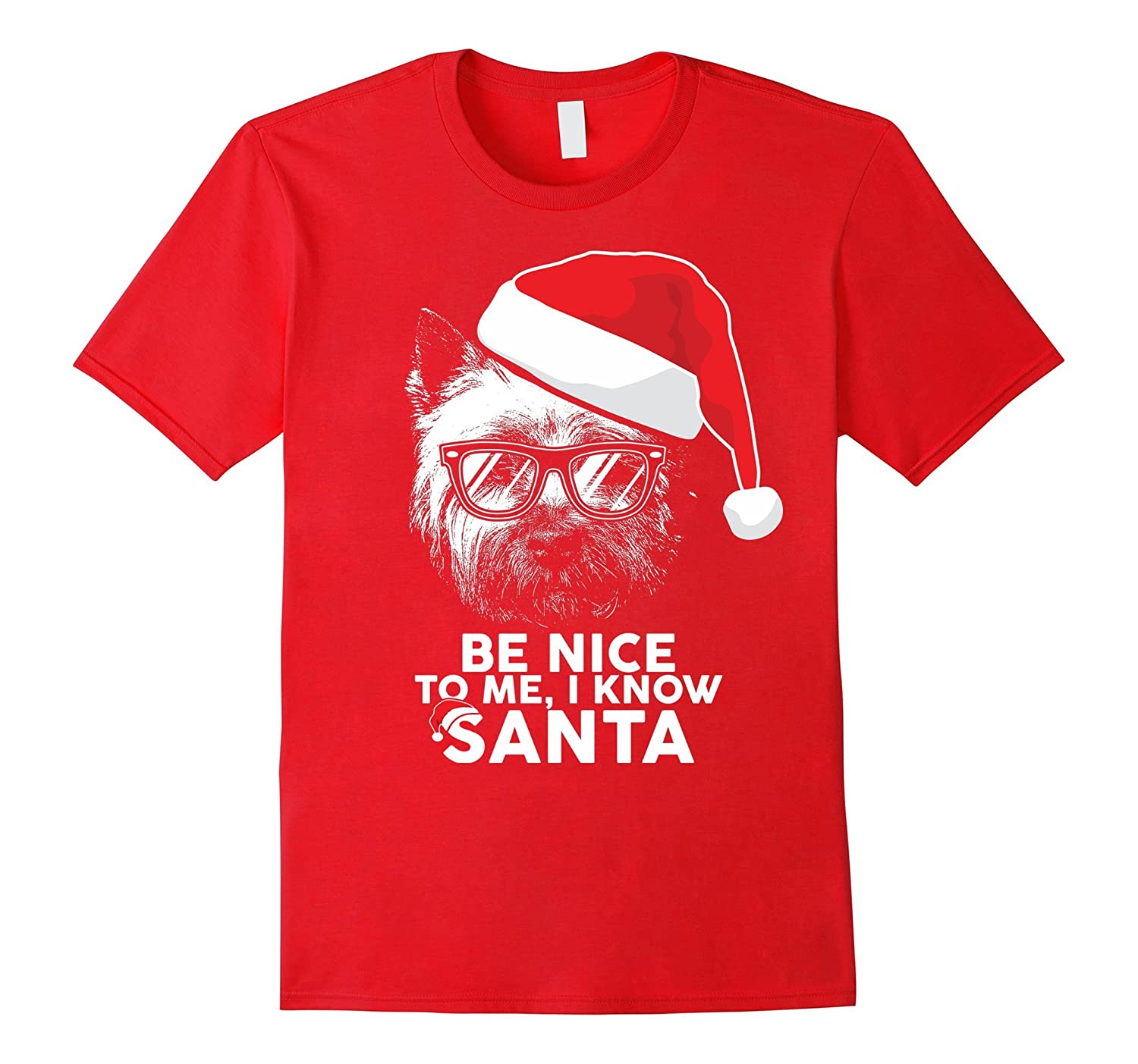 West Highland White Terrier Christmas Shirt Funny Xmas Gift-ANZ