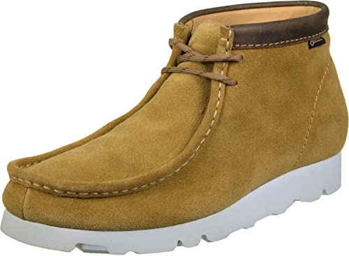 500d760d77d98b Clarks Originals WallabeeBT GTX Shoes Dark Ochre Suede  Amazon.co.uk ...