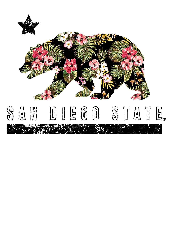 Official NCAA SDSU Aztecs C67AM04 Mens//Womens Boyfriend Long Sleeve Tee