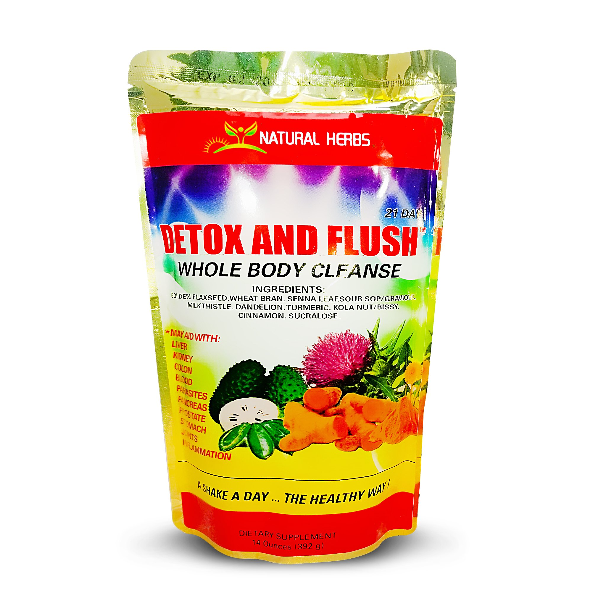 Detox and Flush by NATURAL HERBS