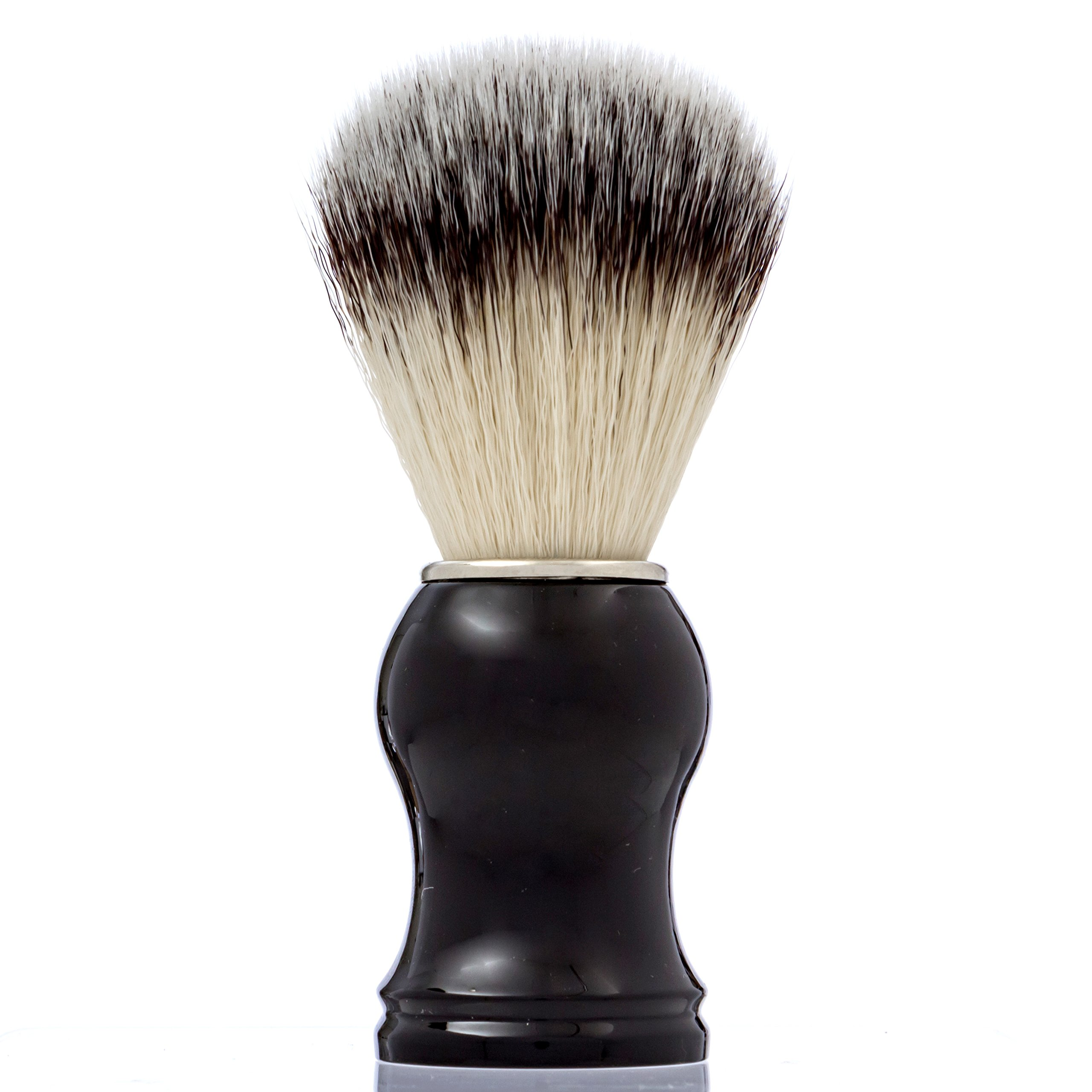 Synthetic Shaving Brush By PimplePopper.co: Vegan-Friendly Shave Brush With Synthetic Bristles - Traditional Grooming Brush For Wet Shaving Your Beard, Moustache & Facial Hair - Eliminate Razor Burns product image