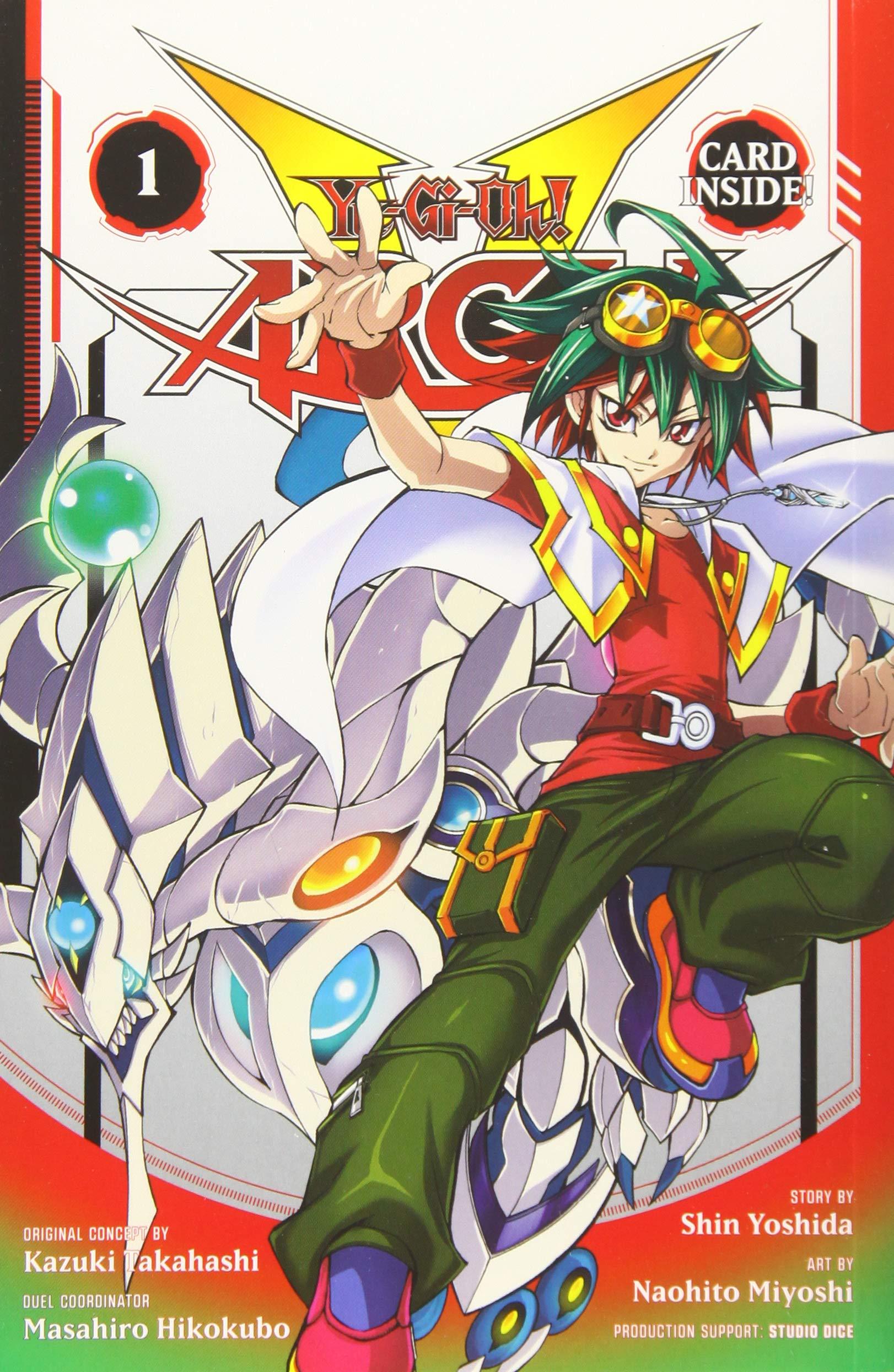 Amazon.com: Yu-Gi-Oh! Arc-V, Vol. 1 (1) (9781421587622 ...