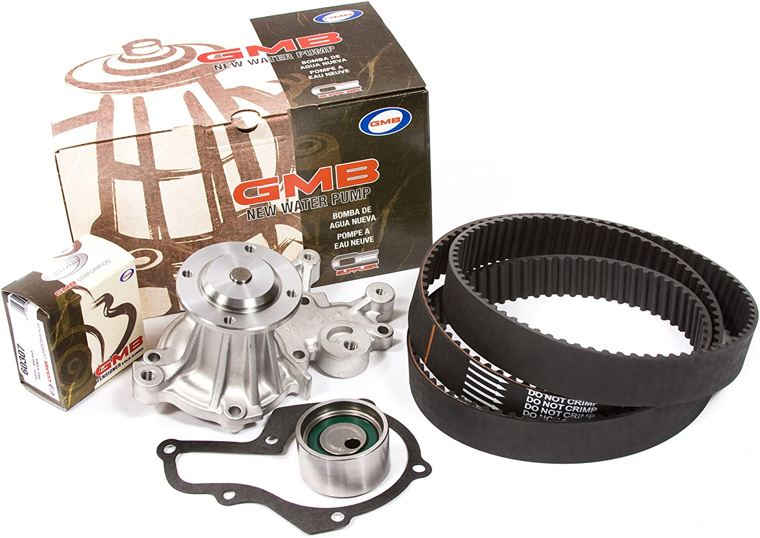 1.3 SOHC 16V Timing Belt Kit GMB Water Pump Fits 95-97 Geo Suzuki 1.3 SOHC 8V G13K