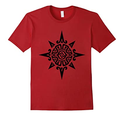 Mens Blackfoot Indian Warrior Symbol T Shirt Native American Tee