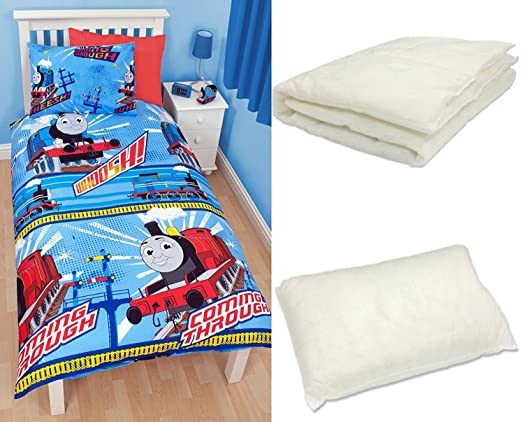 4 in 1 - Thomas The Tank Engine Bedding Duvet Cover Set