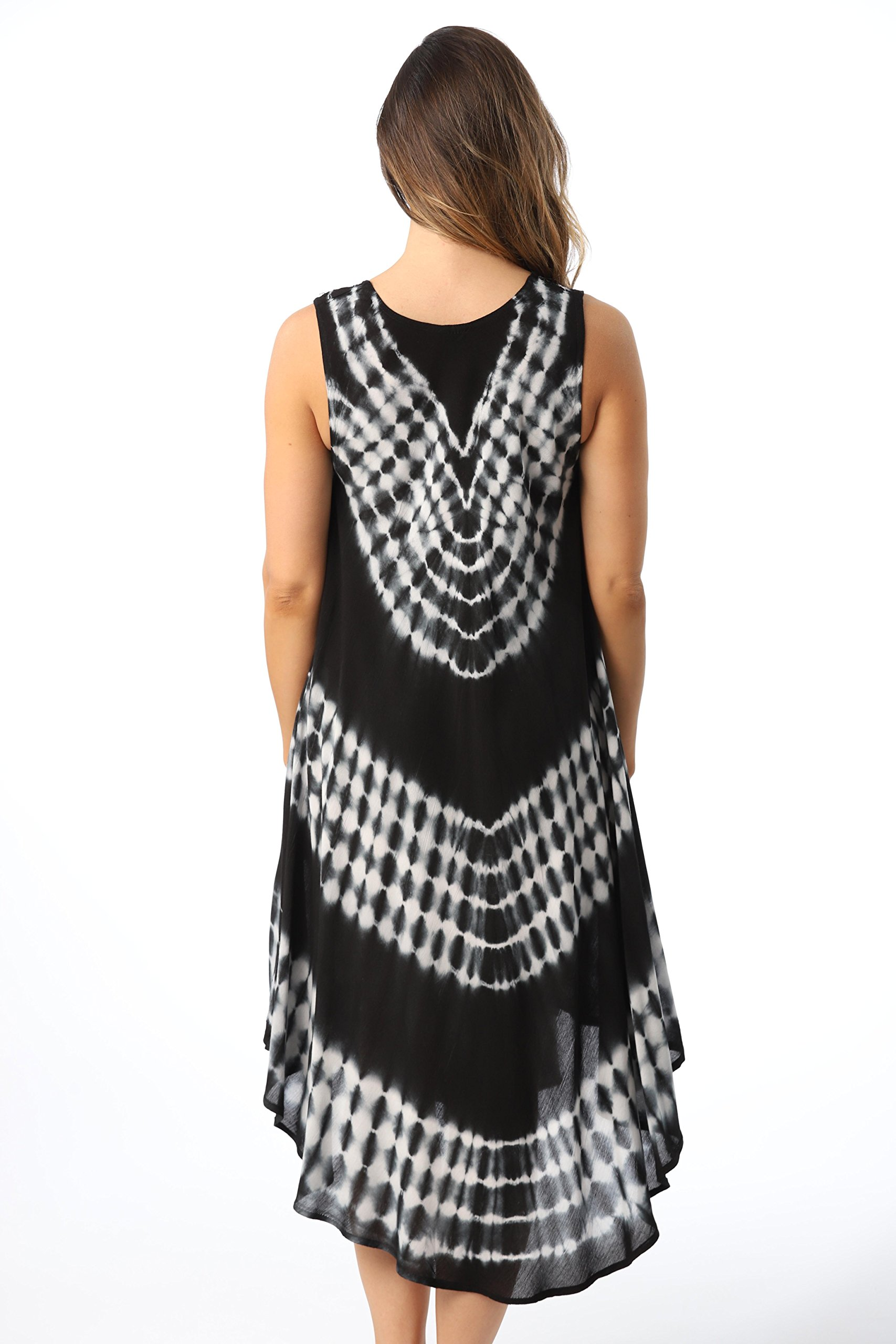 Riviera Sun 21802-BLK-L Dress Dresses For Women by Riviera Sun (Image #4)