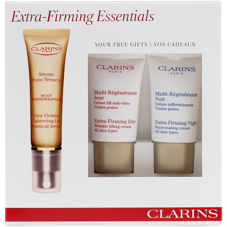 Extra Firming By Clarins Tightening Lift Botanical Serum 30ml Free Day Cream 15ml Night Beauty