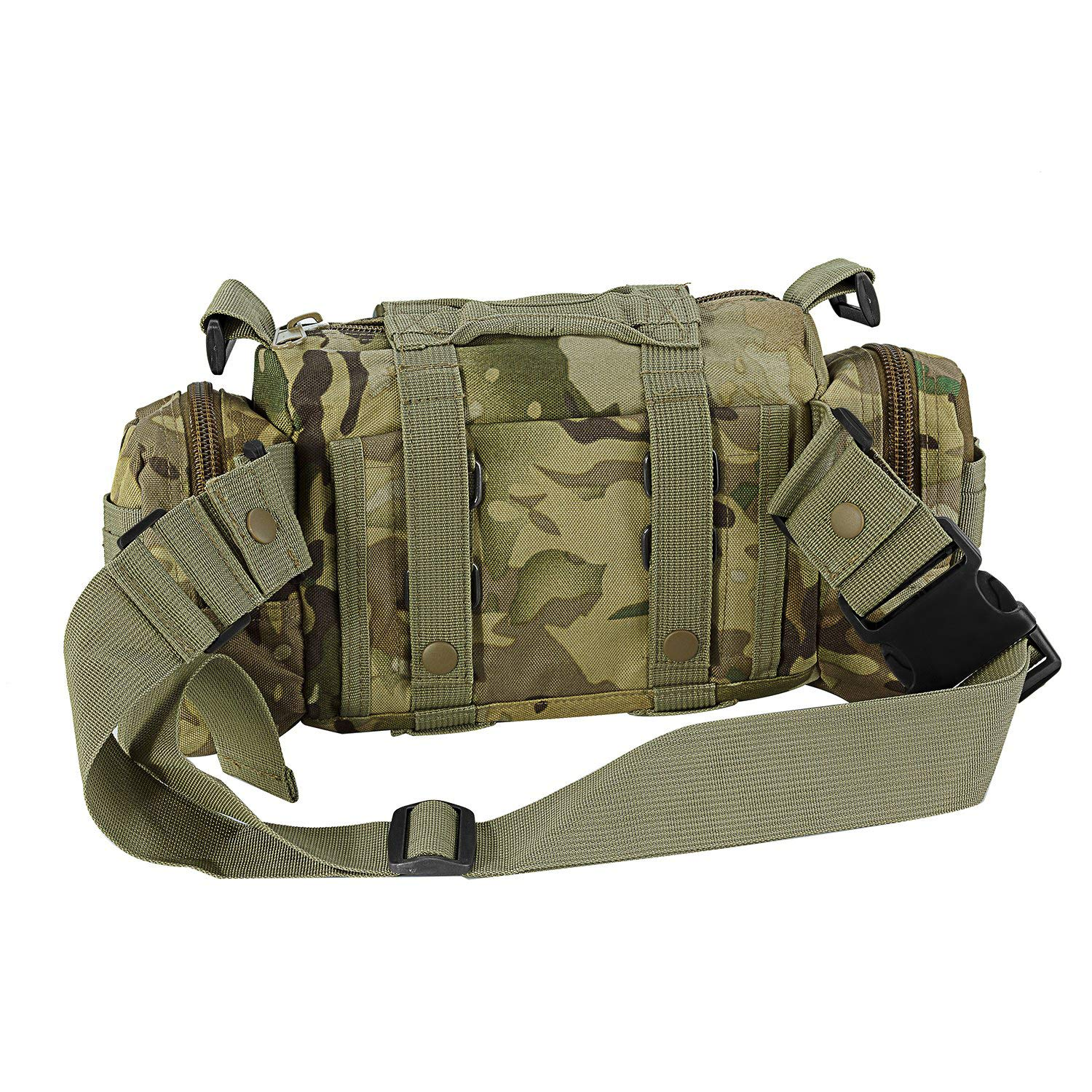 CVLIFE 60L Built-up Military Tactical Army Outdoor Backpacks Assault Combat Rucksack Heavy Bag CP by CVLIFE (Image #7)