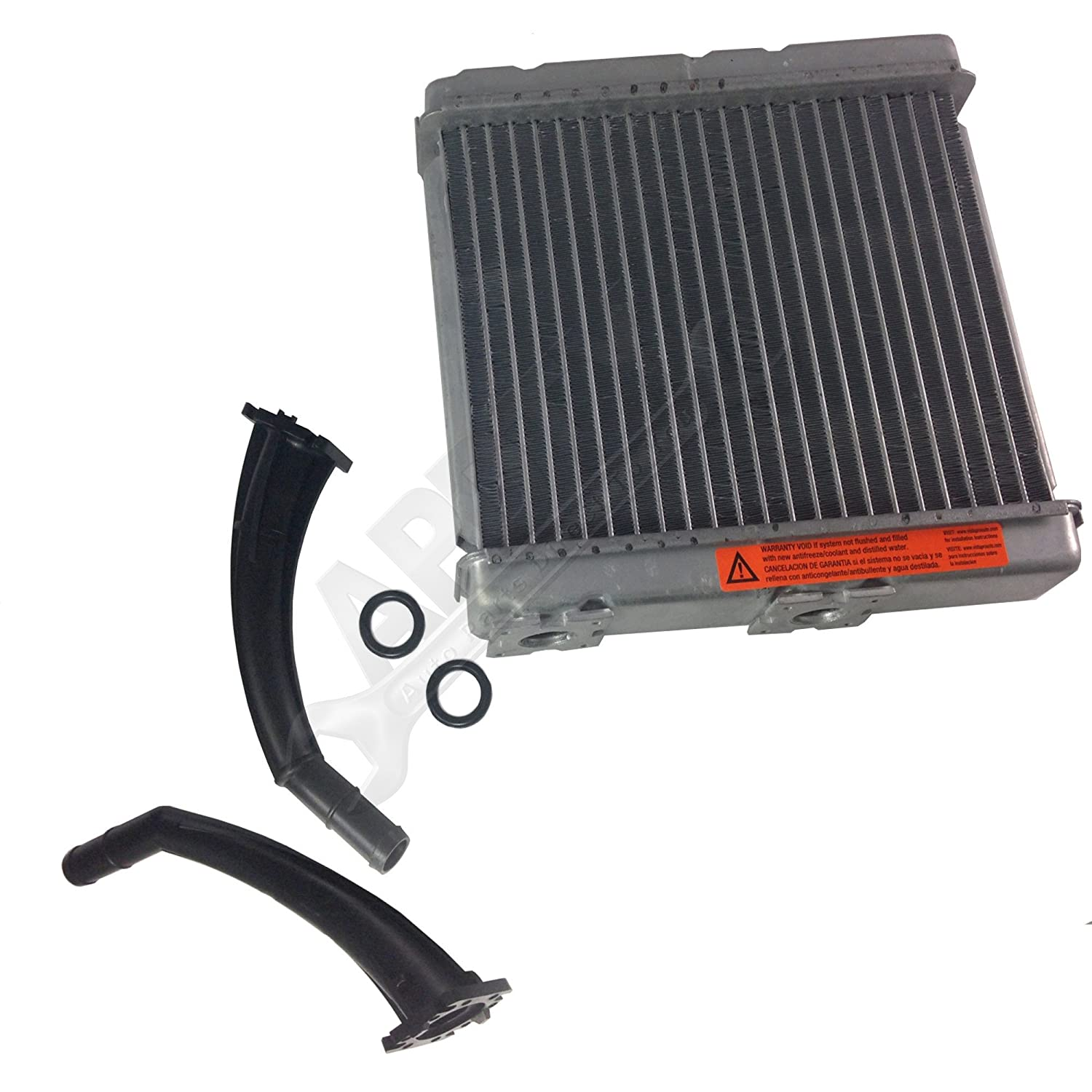 Replaces 27140-7Z102, 27140-1E400 2002 2003 2004 Nissan Frontier 4-Door APDTY 013100 /& 8231386 Heater Core Kit With Inlet /& Outlet Plastic Tube Pipes Fits 2000-2004 Nissan Xterra 4-Door 3.3L V6