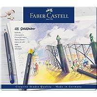 Lápis de Cor Goldfaber 48 Cores, Faber-Castell