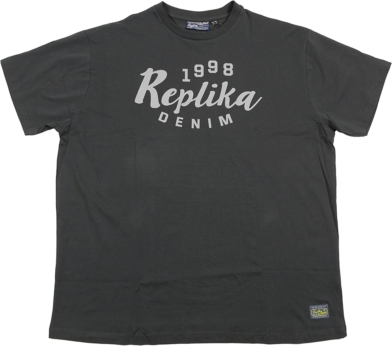 """Replika Pure Cotton Printed Tee Shirt /""""61916/"""" in Size 2XL To 8XL 4 Options"""
