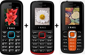 609bf17776b I KALL 1.8 Inch Display Dual Sim Mobile Combo Power Pack of Three ...