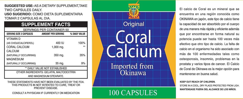 Set de 2 frascos con 100 capsulas cada uno. Combate: Cansancio, dolor de huesos, insomnio, Calambres, Artritis. 100% natural.: Health & Personal Care