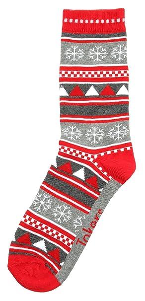 Festive Feet Calcetines para mujer con diseño de Navidad: Amazon.es: Ropa y accesorios