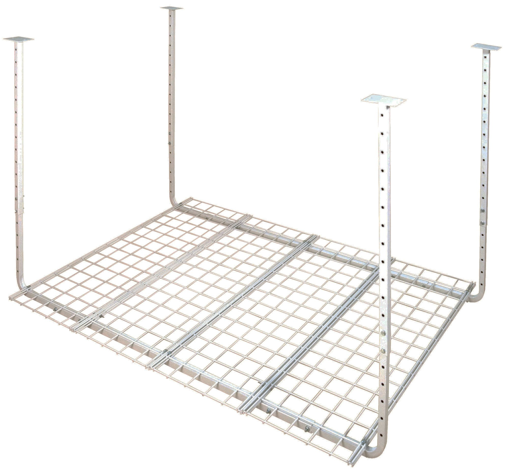 HyLoft 50175-10 60-Inch by 45-Inch Pro Ceiling Mount Shelf, White by HyLoft
