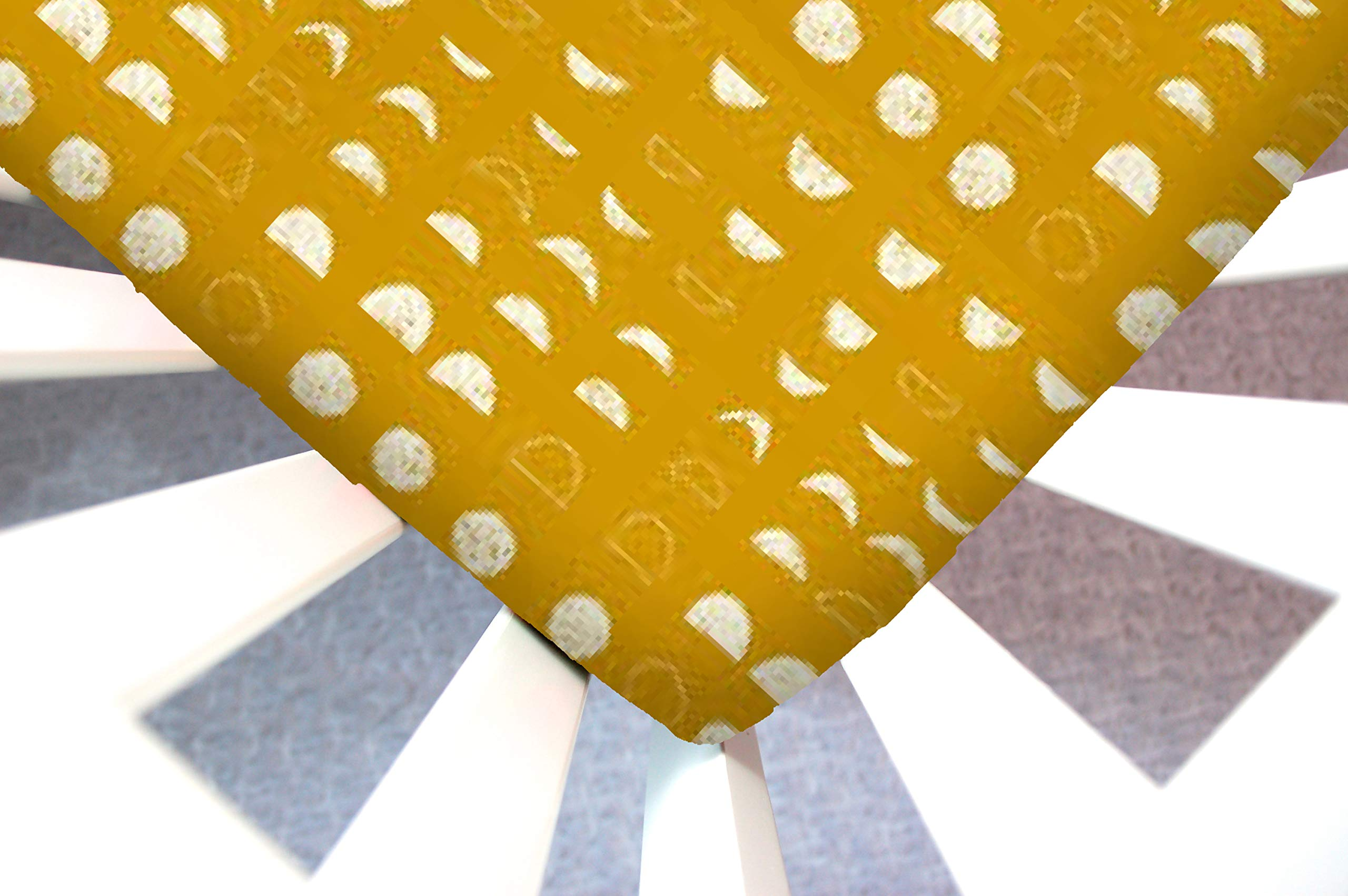Little Moose by Liza Handmade Sheet Made to Fit an Uppababy Vista Bassinet 2018 in Lunation Bright (Gold Moon Phases). This Sheet was Not Created or Sold by Uppababy. by Little Moose By Liza LLC