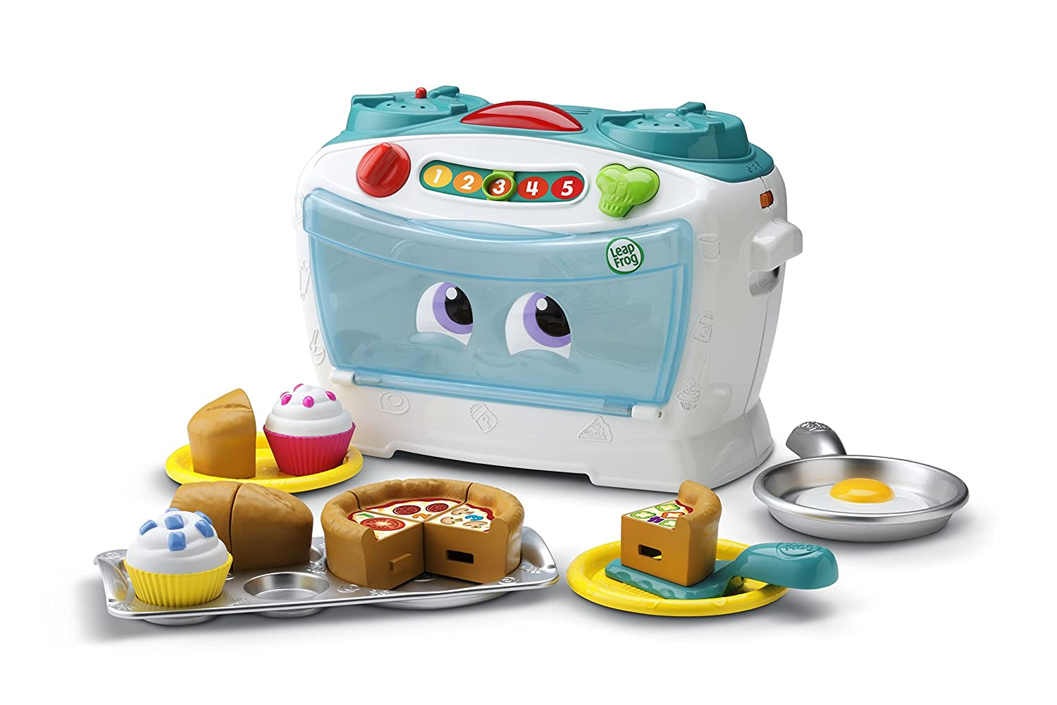 Toddler Toy Oven Kids LeapFrog Pretend Kitchen Learning Activity ...