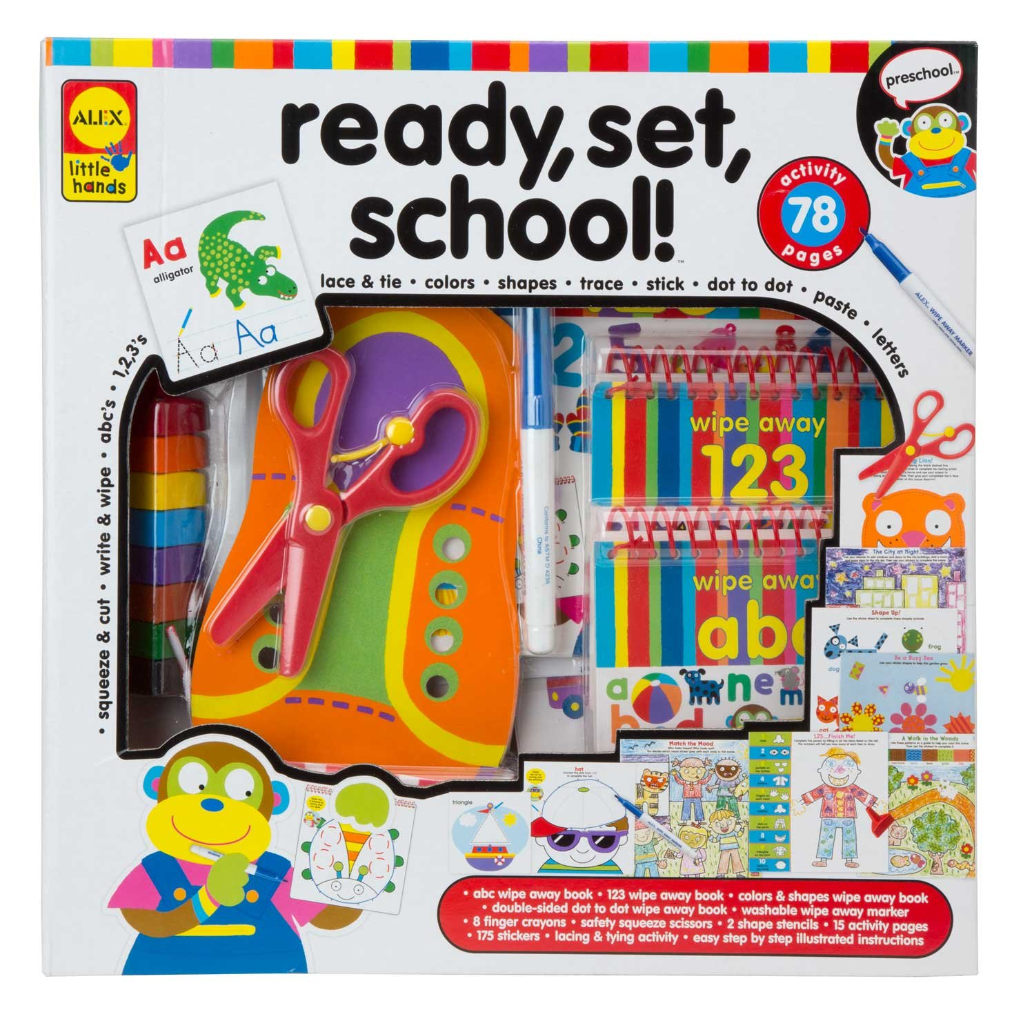 Alex Toys Little Hands Ready Set School 4