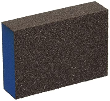 Webb abrasivos 366012 z-foam bloque esponjas de lija, tamaño mediano/grano grueso