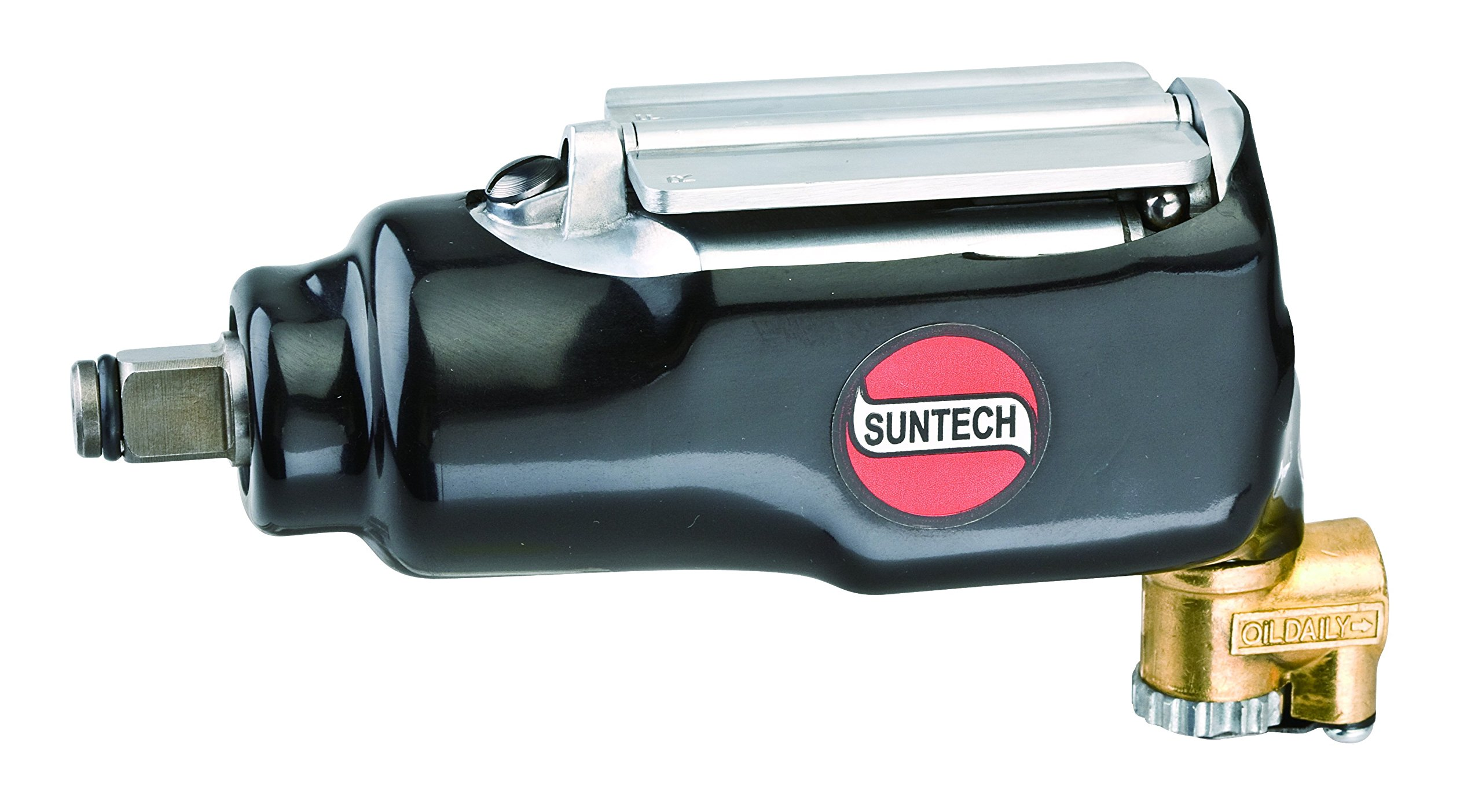 SUNTECH SM-4011A Air Butterfly Impact Wrench with Heavy Duty, Black, 1/2''