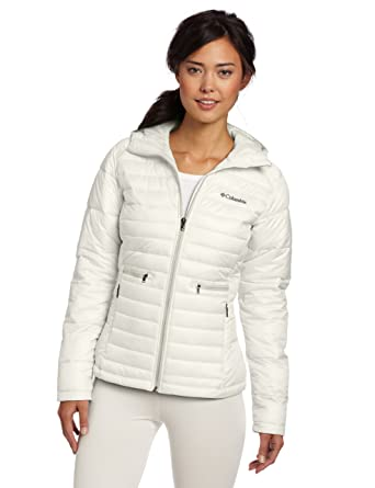 Columbia Women's Powder Pillow Jacket, Sea Salt, Large at Amazon Women's  Coats Shop
