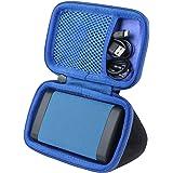 co2crea Hard Travel Case for OontZ Angle 3 3rd Gen Cambridge Soundworks Bluetooth Portable Speaker (Black Case + Inside…