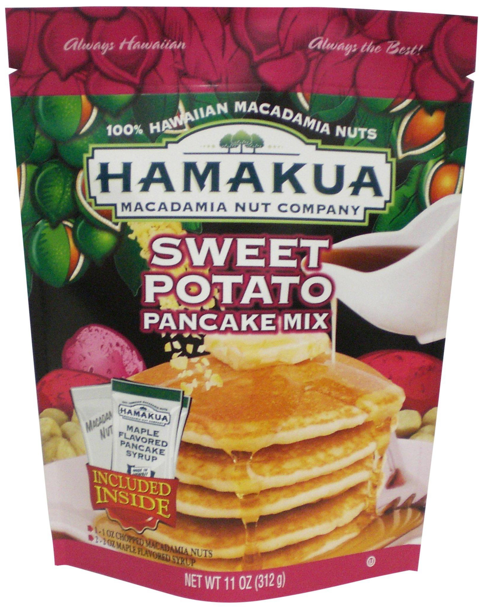 Hamakua Pancake Mix, Sweet Potato, 11 Ounce