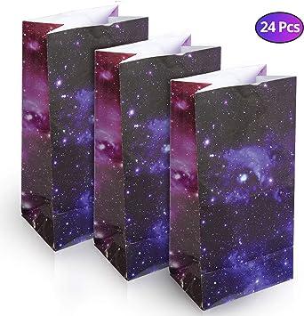 Amazon.com: Bolsas de regalo para fiestas espaciales ...