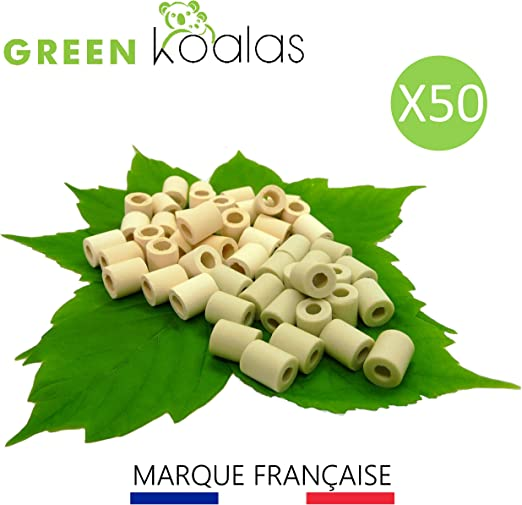 Lote de 50 perlas de cerámica EM® para microorganismos eficaces 30 ...
