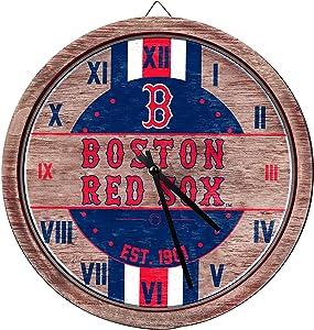 FOCO MLB Chicago Cubs Unisex Barrel Wall CLOCKBARREL Wall Clock, Team Color, One Size