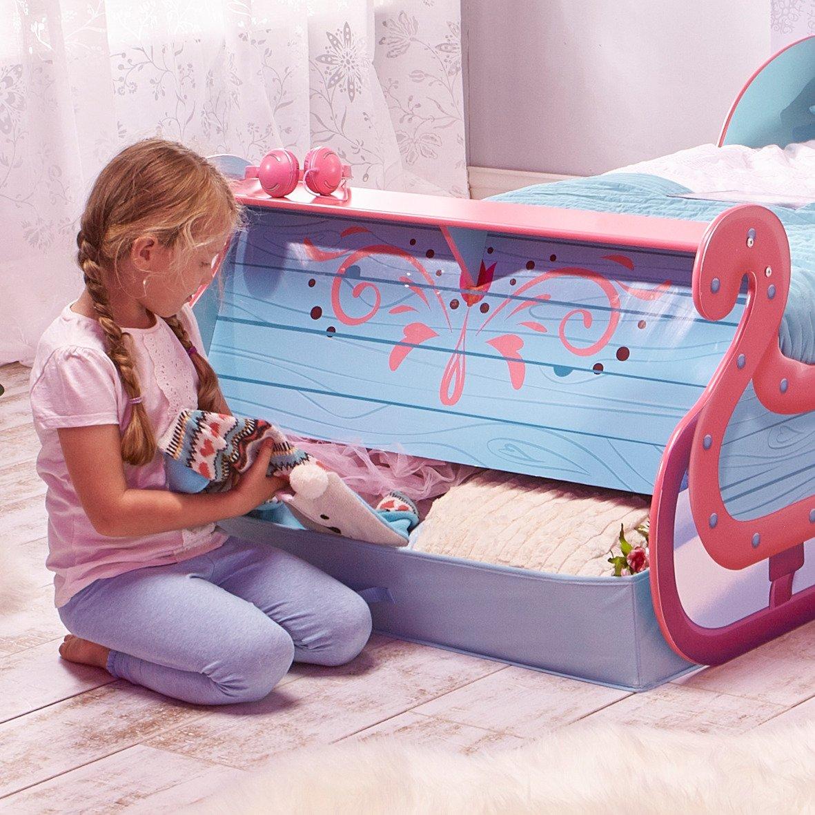 Disney Die Eiskönigin Schlittenbett Frozen Bett Kinderbett ...