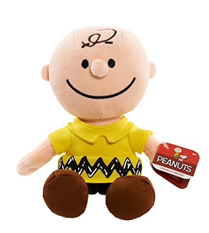 Amazon Com Peanuts Charlie Brown Bean Plush Toys Games