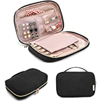 BAGSMART Travel Jewelry Storage Cases Jewelry Organizer Bag for Necklace, Earrings, Rings, Bracelet