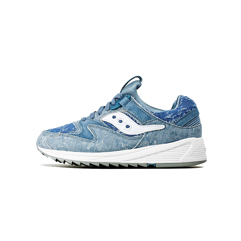 a9cfb386 Amazon.com   Saucony Originals Men's Grid 8500 Blue Denim 8 D(M) US D (M)    Shoes