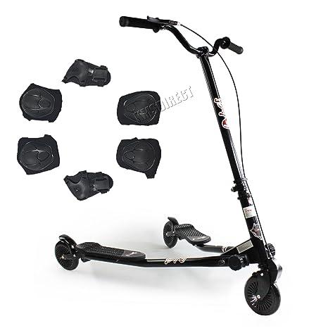 KMS FoxHunter - Patinete de 3 ruedas para niños mayores de 7 ...