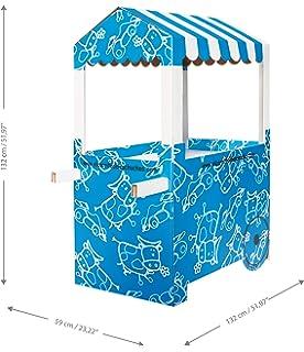 Carro de Chucherías de Cartón, Medidas 132 cm (alto) x 100 cm (ancho) x 59 cm (profundidad)…
