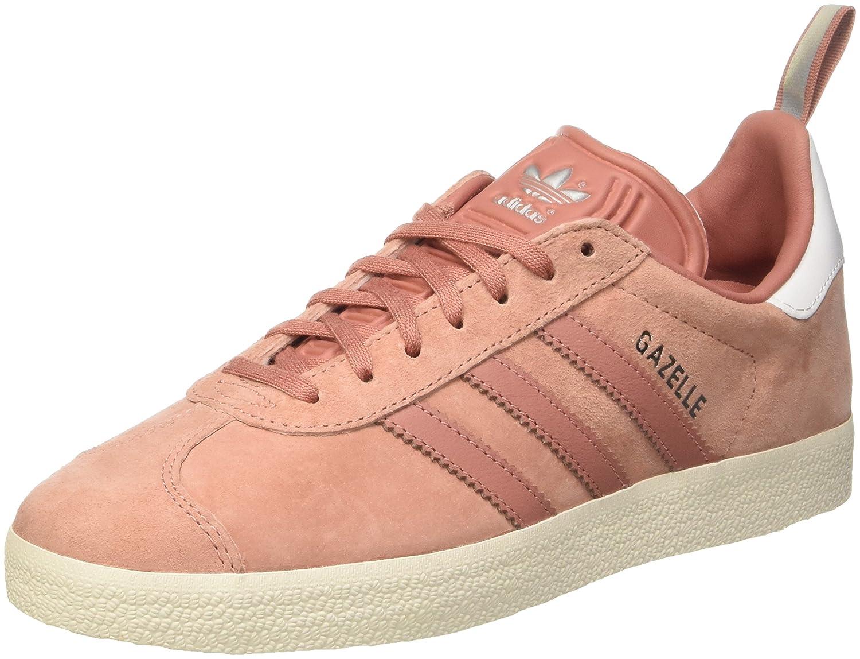 more photos 19de5 bcbbf adidas Damen Gazelle Pumps 41 1 3 EU Pink (Raw Pink  Raw Pink  Silver  Metallic) - sommerprogramme.de