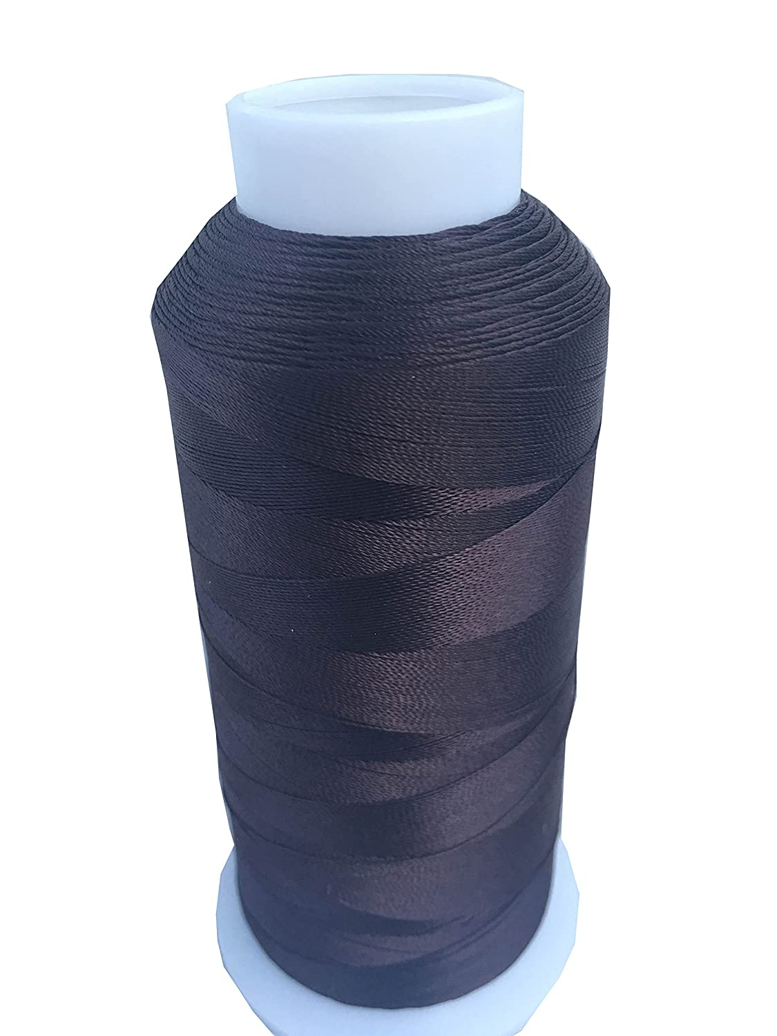 Item4ever UV Resistant Polyester Thread for Outdoor Leather Upholstered (Large, White)