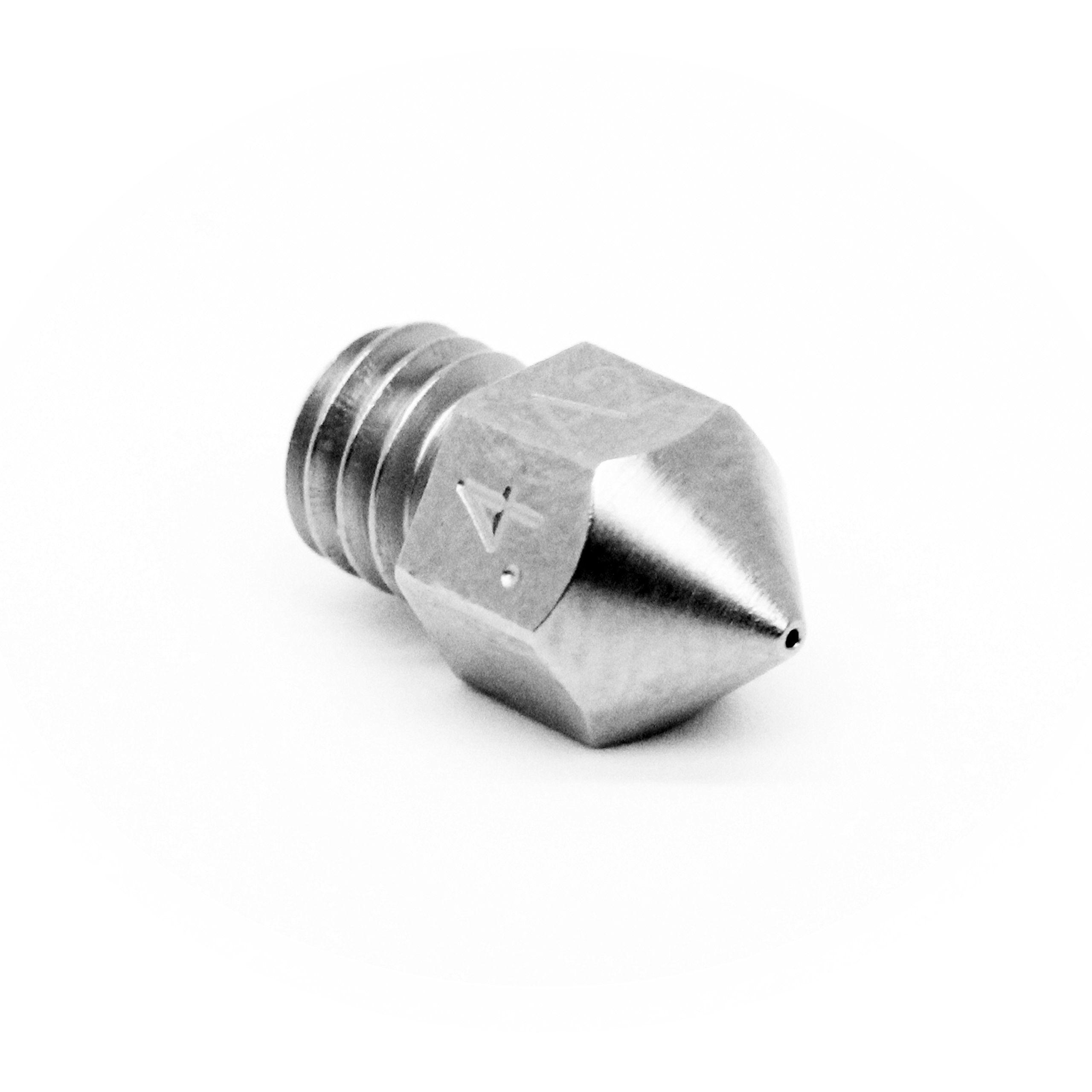 Micro Swiss MK8 Plated A2 Tool Steel Wear Resistant Nozzle (MakerBot, CraftBot, Creality CR10, Tevo Tornado) .4mm