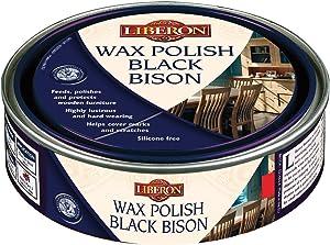 Liberon Black Bison Paste Wax, 500 ml, Walnut