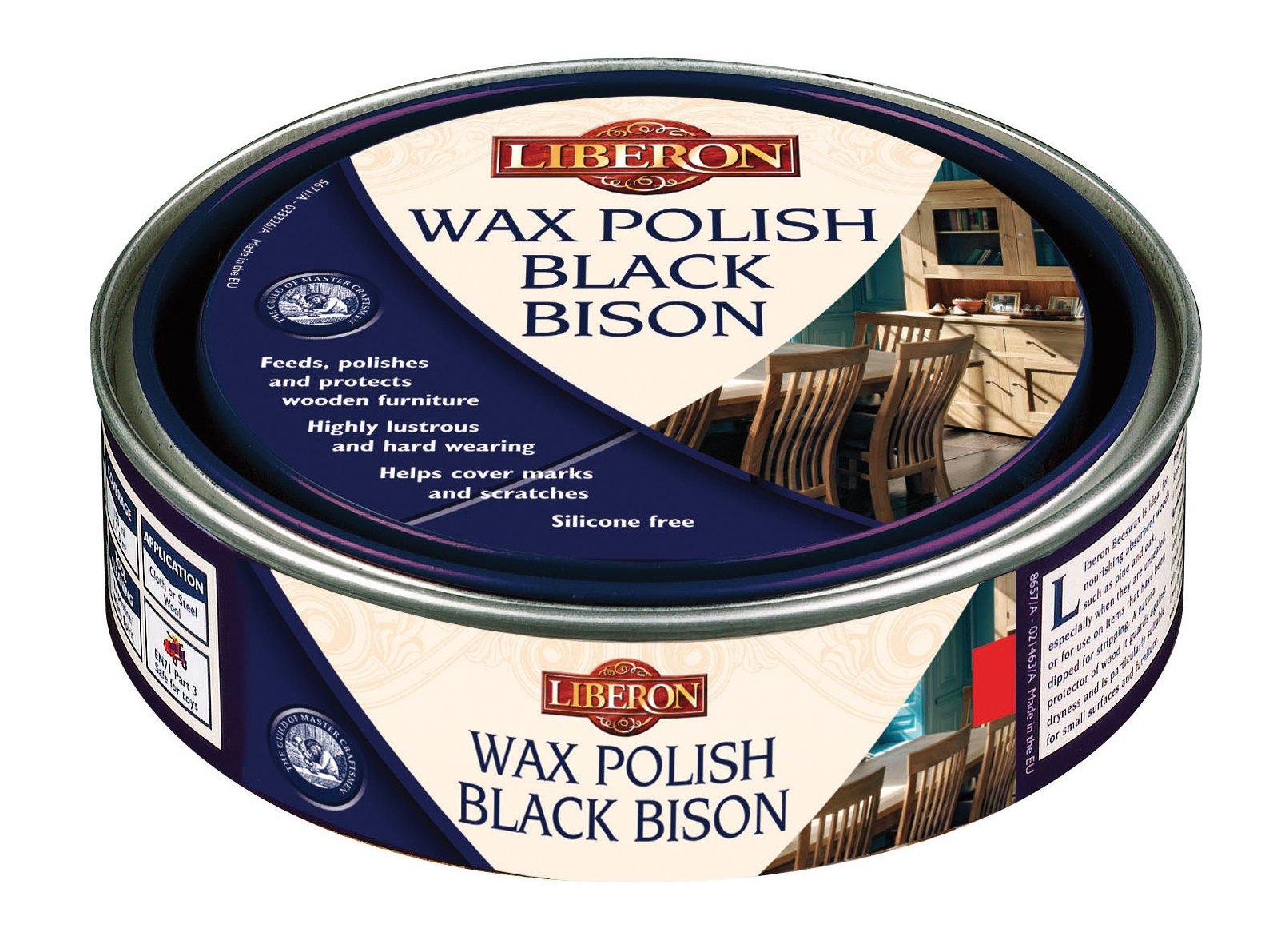 Liberon Black Bison Paste Wax Maple 500ml