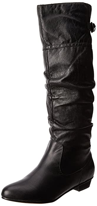 Steve Madden Women's Craave Boot,Black Leather,6 ...